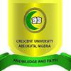 Crescent University, Abeokuta's Official Logo/Seal