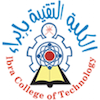 Ibra College of Technology's Official Logo/Seal