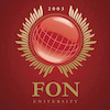 FON Univerzitet Logo or Seal