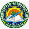 Chaudhary Devi Lal University Logo or Seal