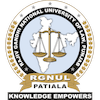 Rajiv Gandhi National University of Law's Official Logo/Seal
