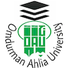 Omdurman Ahlia University Logo or Seal