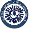 Suresh Gyan Vihar University's Official Logo/Seal