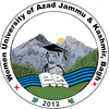 Women University of Azad Jammu and Kashmir Bagh's Official Logo/Seal