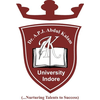 Dr. A.P.J Abdul Kalam University's Official Logo/Seal