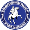 Alexander American University School Of Medicine's Official Logo/Seal