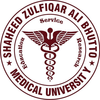 Shaheed Zulfiqar Ali Bhutto Medical University's Official Logo/Seal