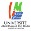 Université Abdelhamid Ibn Badis de Mostaganem's Official Logo/Seal