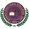 Davao Doctors College Logo or Seal
