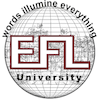 The English and Foreign Languages University Logo or Seal