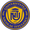 Nicolae Titulescu University of Bucharest Logo or Seal