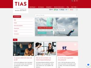 TIAS School for Business and Society's Website Screenshot