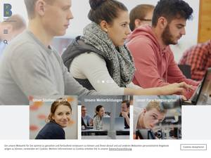 Bern University of Applied Sciences Screenshot