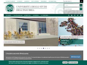 Università degli Studi dell'Insubria Screenshot