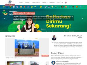 State University of Gorontalo Screenshot