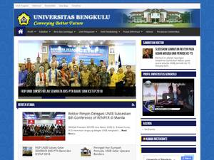 Universitas Bengkulu Screenshot