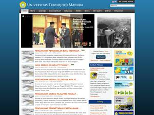 Universitas Trunojoyo Madura Screenshot