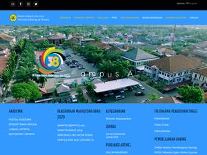 Universitas Sultan Ageng Tirtayasa Screenshot