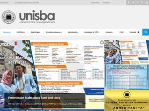Islamic University of Bandung Screenshot