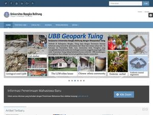 Universitas Bangka Belitung Screenshot
