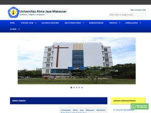 Universitas Atma Jaya Makassar Screenshot
