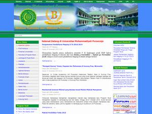 Universitas Muhammadiyah Purworejo Screenshot