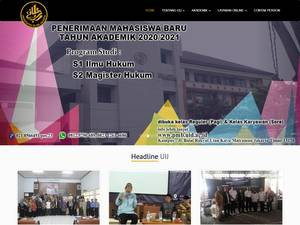Islamic University of Jakarta Screenshot