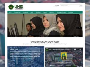 Universitas Islam Syekh-Yusuf Screenshot