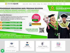 Universitas Djuanda Screenshot