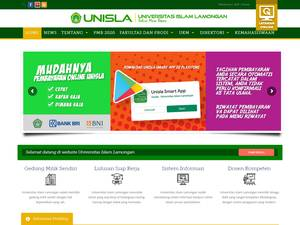Universitas Islam Lamongan Screenshot