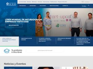 Universidad ICESI's Website Screenshot