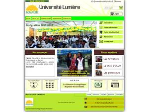 Université Lumière MEBSH's Website Screenshot