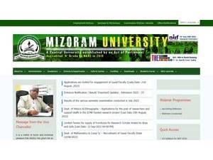 Mizoram University | Ranking & Review