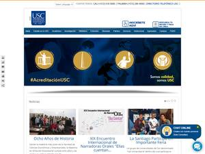 Universidad Santiago de Cali's Website Screenshot
