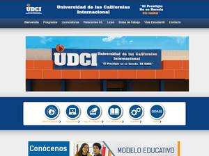 Universidad de las Californias Internacional S.C. Screenshot