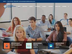 Inter-American University of the North and Sierra Madre Tech Screenshot