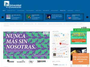 Universidad de la Comunicación S.C. Screenshot