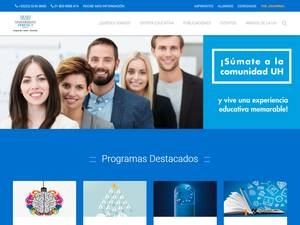 Universidad Hebraica's Website Screenshot