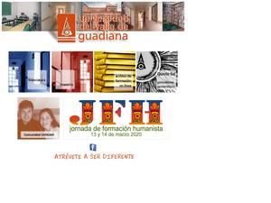 Universidad del Valle de Guadiana's Website Screenshot