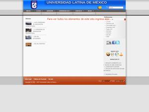 Universidad Latina de México S.C. Screenshot