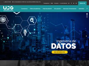 Universidad Politécnica de Guanajuato's Website Screenshot