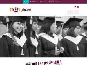 Universidad Quetzalcóatl's Website Screenshot