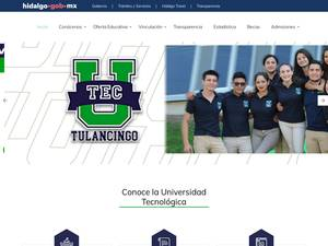 Universidad Tecnológica de Tulancingo Screenshot