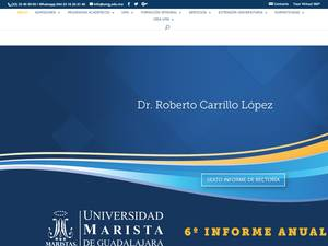Universidad Marista de Guadalajara Screenshot