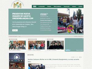 Universidad de Ecatepec's Website Screenshot