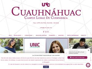 Cuauhnáhuac University Screenshot