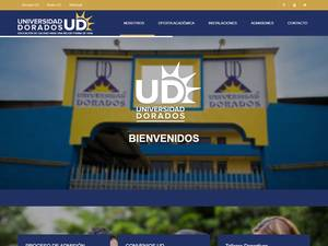 Universidad Dorados's Website Screenshot