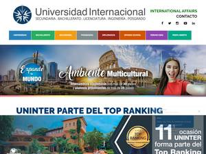 International University Screenshot