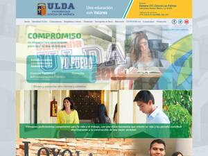 Universidad Loyola de America's Website Screenshot