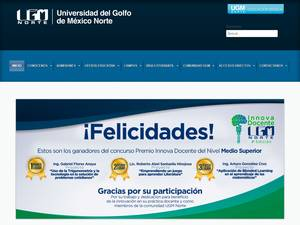 Universidad del Golfo de México Norte Screenshot